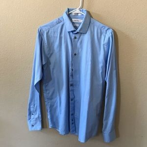 Young Men's Size 20 Calvin Klein Button Down Shirt
